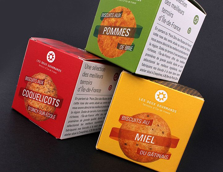Les deux gourmands packaging