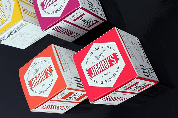 Packaging les deux gourmands